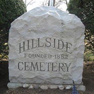 Hillside Cemetery -Hillside Cemetery Stone